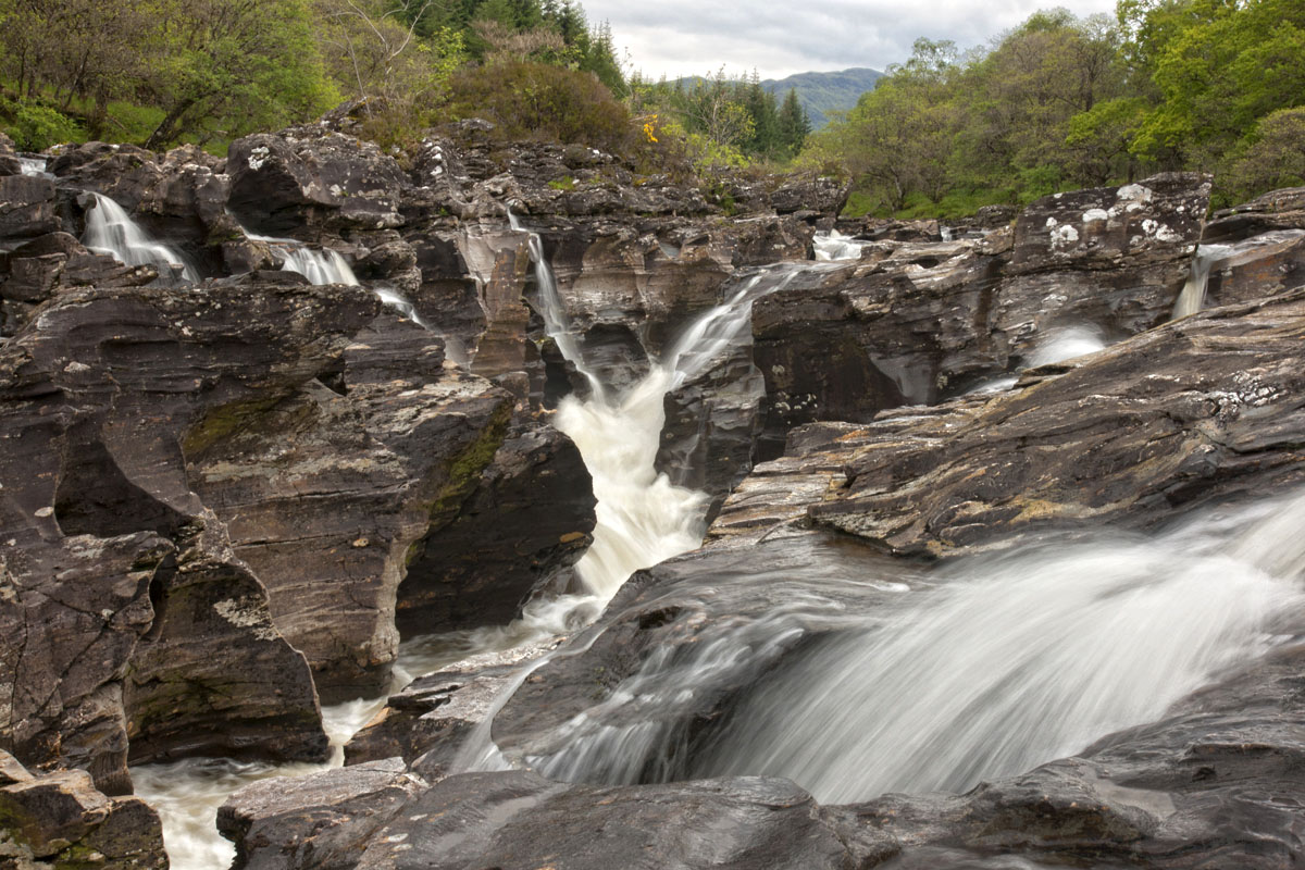 Falls of Orchy Scotland